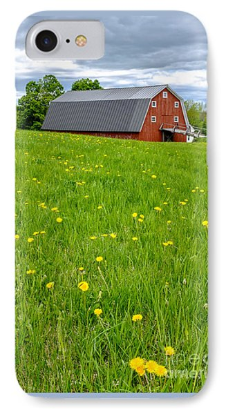 New England Landscape IPhone Case by Edward Fielding