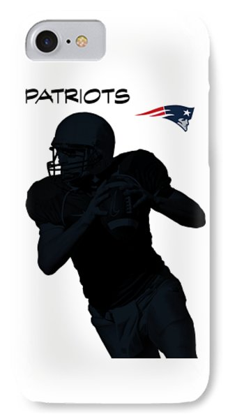 New England Patriots Football IPhone Case by David Dehner
