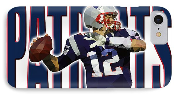 New England Patriots IPhone Case by Stephen Younts