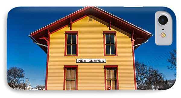 New Glarus Depot IPhone Case by Todd Klassy
