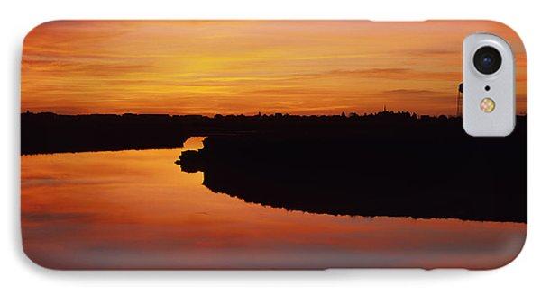 New Hampshire Salt Marsh At Sunrise Phone Case by Erin Paul Donovan
