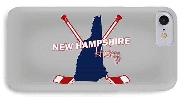 New Hampshire State Hockey IPhone Case