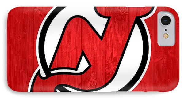 New Jersey Devils Barn Door IPhone Case by Dan Sproul