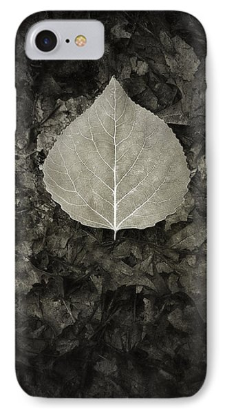 New Leaf On The Old IPhone Case by Scott Norris