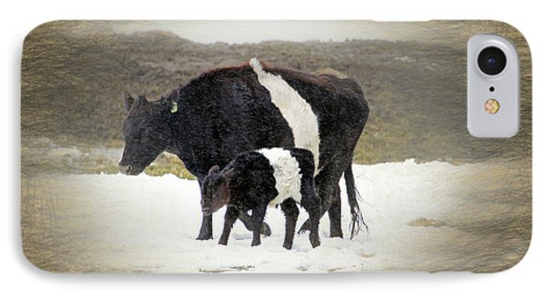 New Life In A Winter Snowfall IPhone Case by Donna Kennedy