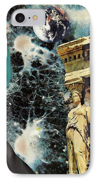 New Life In Ancient Time-space Phone Case by Sarah Loft