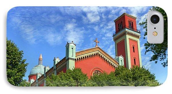 New Lutheran Church In Kezmarok, Slovakia IPhone Case by Elenarts - Elena Duvernay photo