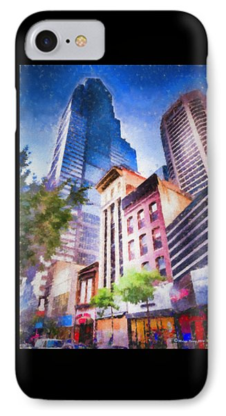 New Meets Old IPhone Case by Marvin Spates