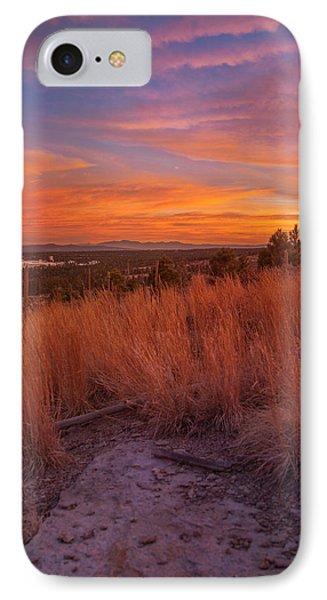 New Mexican Sunset IPhone Case by Elena E Giorgi