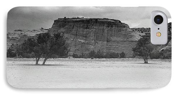 New Mexico Black And White Jemez Mountains Landscape IPhone Case