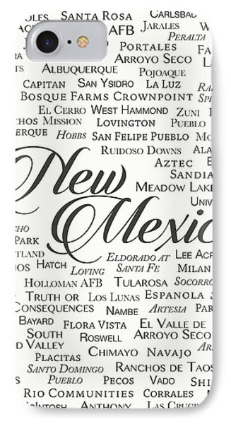 New Mexico IPhone Case by Finlay McNevin