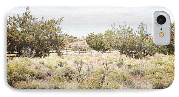 New Mexico Jemez Valley Field Landscape IPhone Case