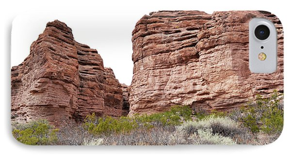 IPhone Case featuring the photograph New Mexico Red Rock Mountain Canyon by Andrea Hazel Ihlefeld