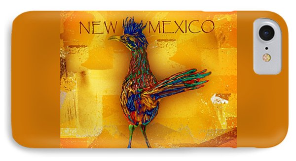 Roadrunner iPhone 7 Case - New Mexico Roadrunner by Barbara Chichester
