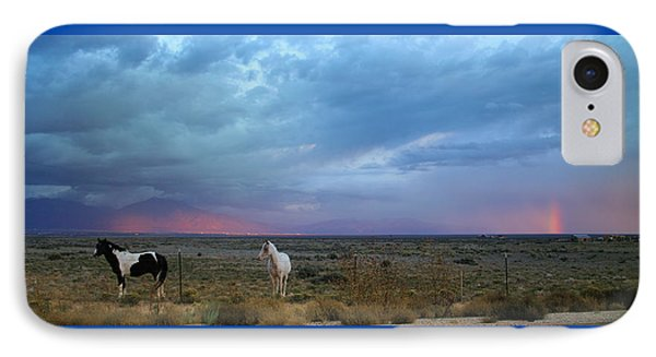 New Mexico Storms IPhone Case by Heidi Hermes