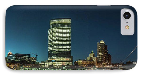 New Milwaukee Skyline IPhone Case by Randy Scherkenbach