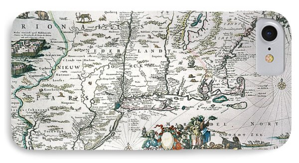 New Netherland Map Phone Case by Granger