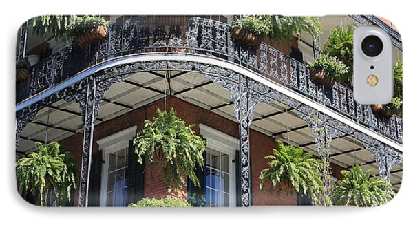 New Orleans Balcony Phone Case by Carol Groenen