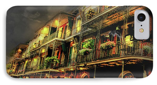 New Orleans Foggy Night IPhone Case