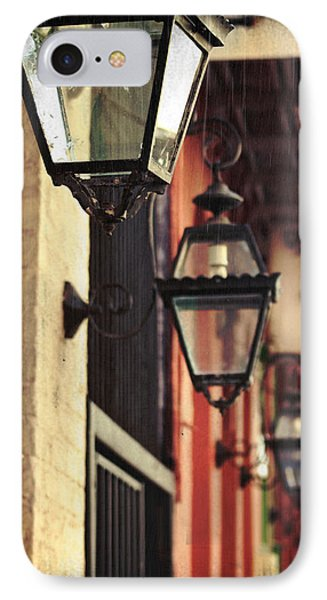 New Orleans Gas Lamps IPhone Case by Jarrod Erbe