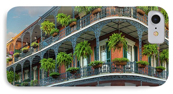 New Orleans House Phone Case by Inge Johnsson