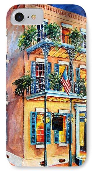 New Orleans' La Fitte's Guest House Phone Case by Diane Millsap