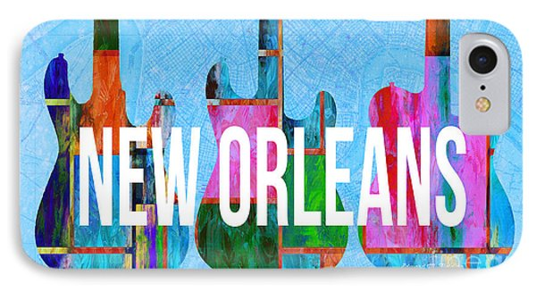 New Orleans Music Scene IPhone Case