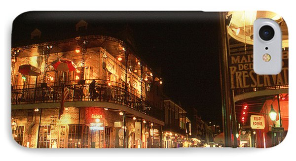 New Orleans Jazz Night IPhone Case by Art America Gallery Peter Potter