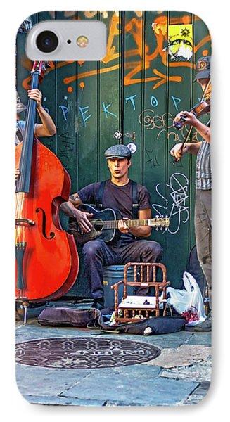New Orleans Street Musicians IPhone Case by Steve Harrington