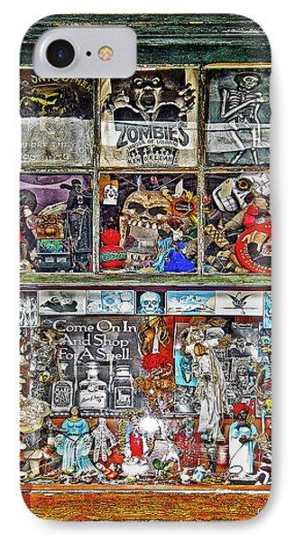 New Orleans Voodoo Shop Reverend Zombie IPhone Case