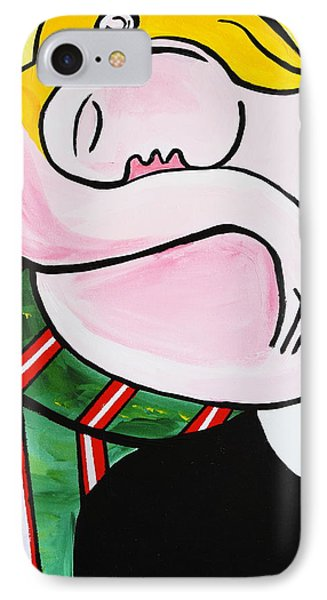 New Picasso By Nora Out Cold IPhone Case