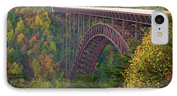 New River Gorge Bridge IPhone Case by Steve Stuller