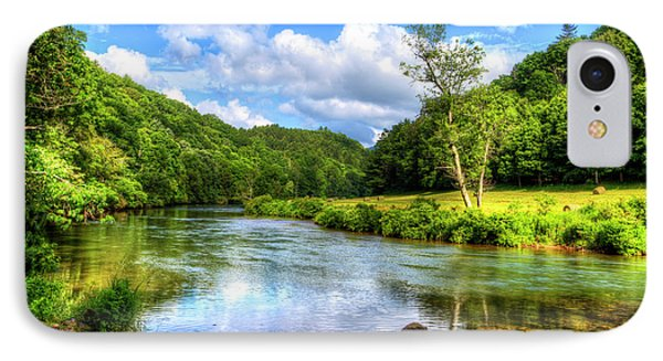 New River Summer IPhone Case by Dale R Carlson