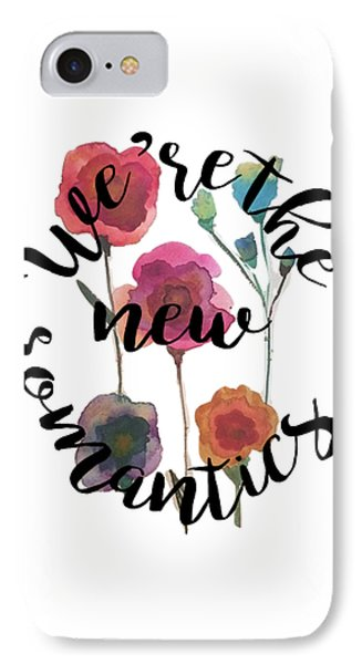 New Romantics IPhone 7 Case by Patricia Abreu