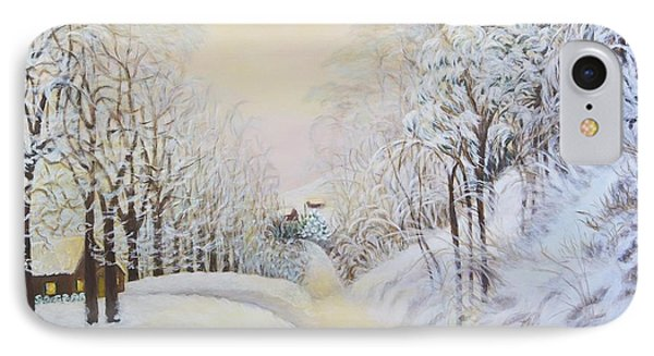 New Snow In Hunting Hills Phone Case by Douglas Ann Slusher