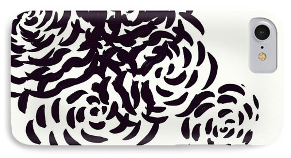 Floral Essence IPhone Case by Anita Lewis