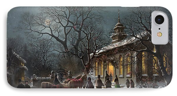 New Years Eve, C1876 Phone Case by Granger