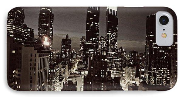 New York After Dark Phone Case by Ariane Moshayedi
