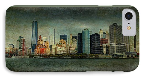 IPhone Case featuring the mixed media New York After Storm by Dan Haraga