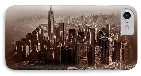 New York Architecture 1 IPhone Case by Gull G