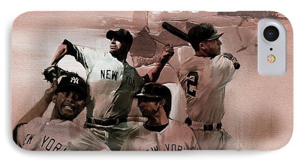 New York Baseball  IPhone Case by Gull G