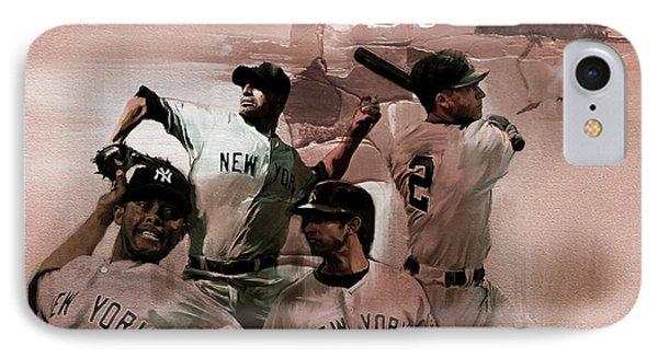 New York Baseball  IPhone Case by Gull G