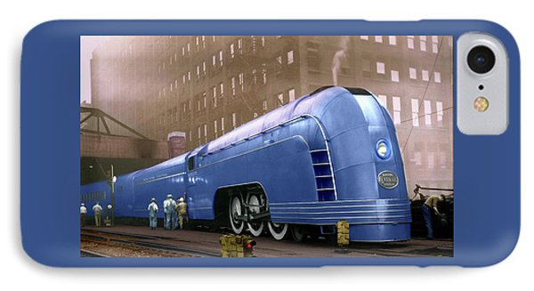 IPhone Case featuring the photograph New York Central by Steven Agius