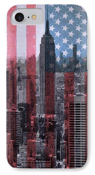 New York City American Pride IPhone Case