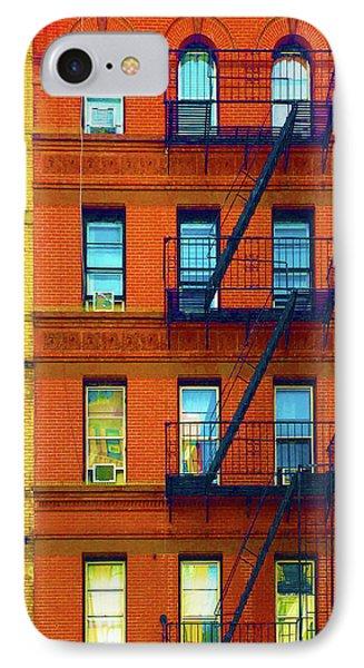 New York City Apartment Building 2 IPhone Case