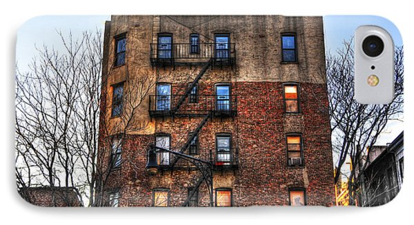 New York City Apartments Phone Case by Randy Aveille