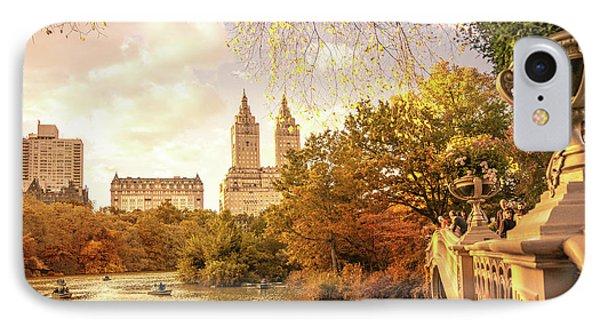New York City Autumn Landscape IPhone Case