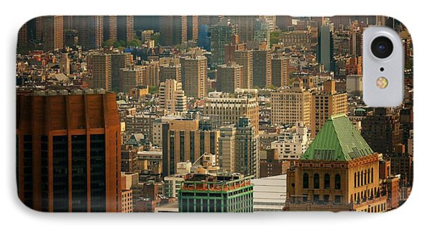 New York City Buildings And Skyline Phone Case by Vivienne Gucwa
