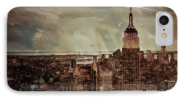 New York City Buildings  IPhone Case by Gull G