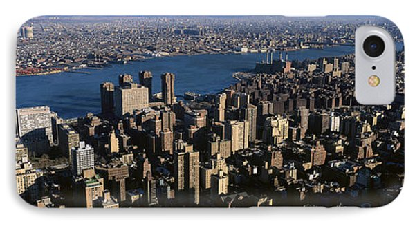 New York City From Empire State Building IPhone Case by Panoramic Images